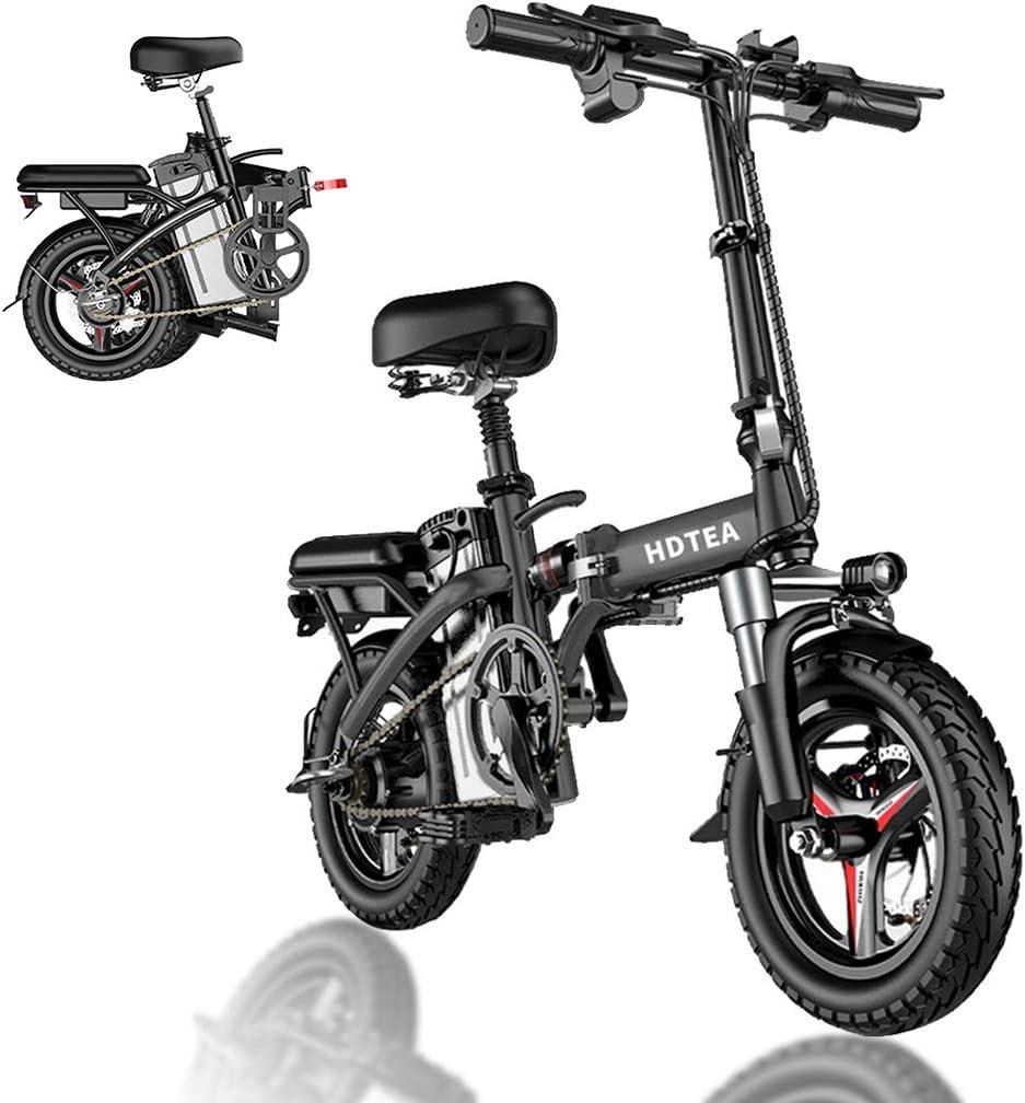 HDTEA electric folding bike