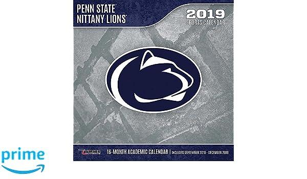 Penn State Calendar 2019 Penn State Nittany Lions 2019 Calendar: Inc. Lang Companies