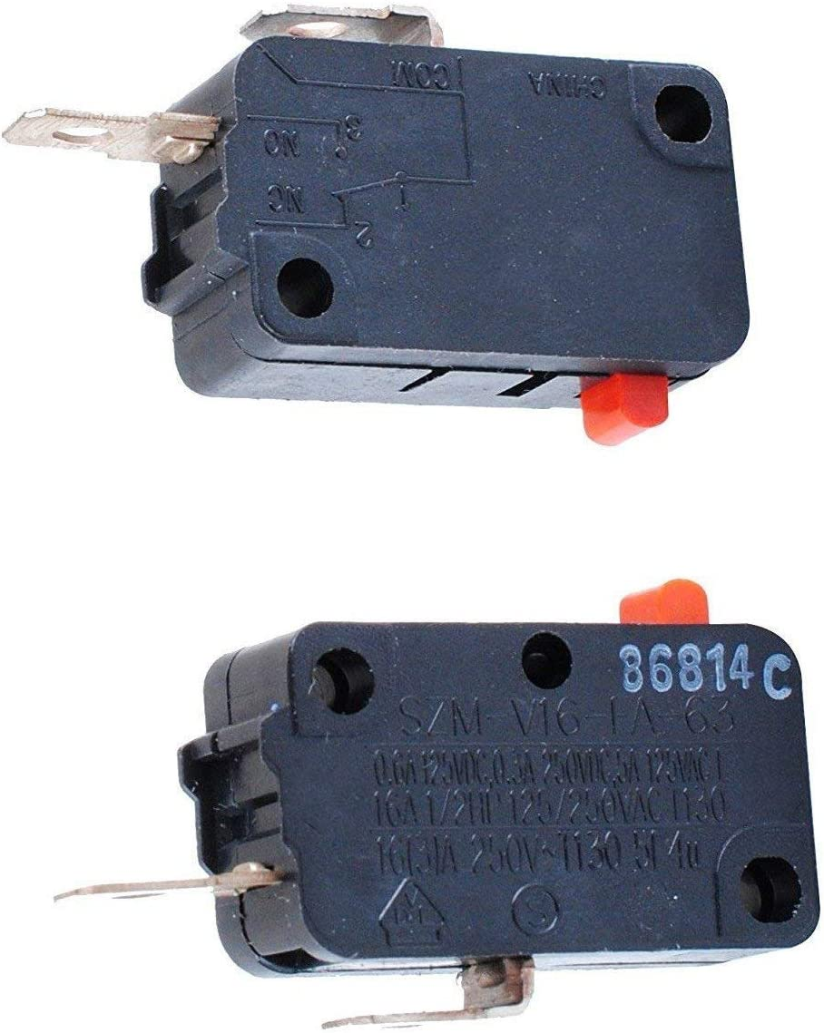 Pack of 2 Podoy SZM-V16-FA-63 Microwave Switch for LG 3B73362F ...