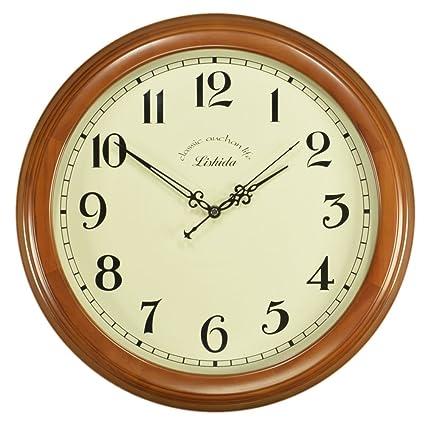 Reloj De Pared Decorativo/Relojes De Pared Silencioso De Vintage/Relojes De Pared Antiguos