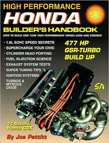 High Performance Honda Builder's Handbook (S-A Design) (v. 1)