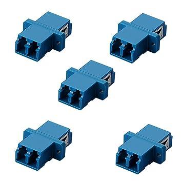 Koppler LC-LC Duplex Singlemode Multimode LWL-Kabel Adapter