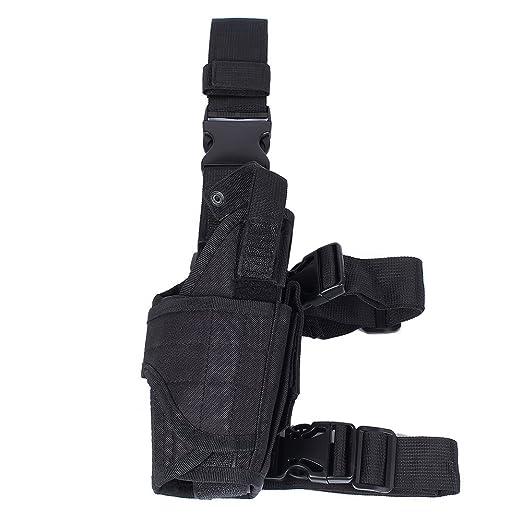 8 opinioni per Goccia Gamba Fondina, Softair Tactical Universale Pistola Coscia Holster Per