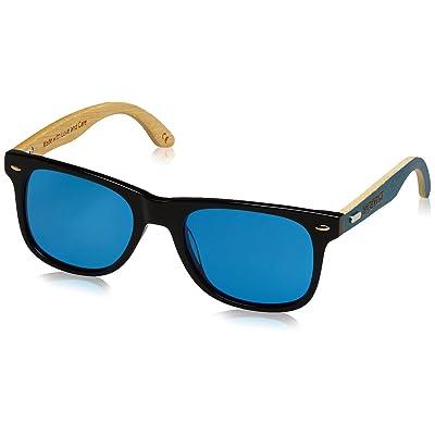HÄRVIST Waymix, Montures de Lunettes Mixte Adulte, Multicolore (Negro / Bambú Azul), 56