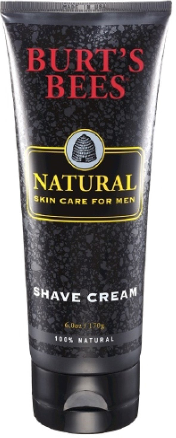 Burt's Bees Natural Skin Care for Men Shave Cream 6 oz (Pack of 12) by Burt's Bees