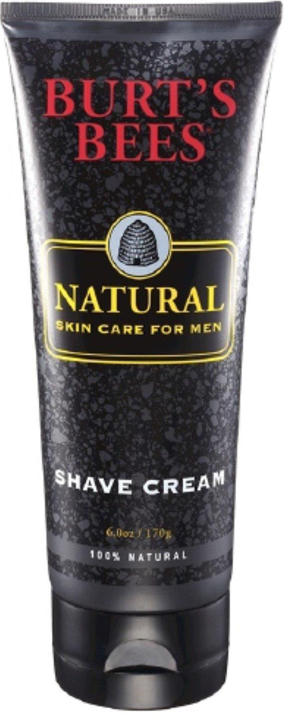 Burt's Bees Natural Skin Care for Men Shave Cream 6 oz (Pack of 12)