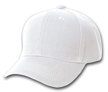 9724d2758 Plain Baseball Cap Blank Hat Solid Color Velcro Adjustable 13 Colors ...