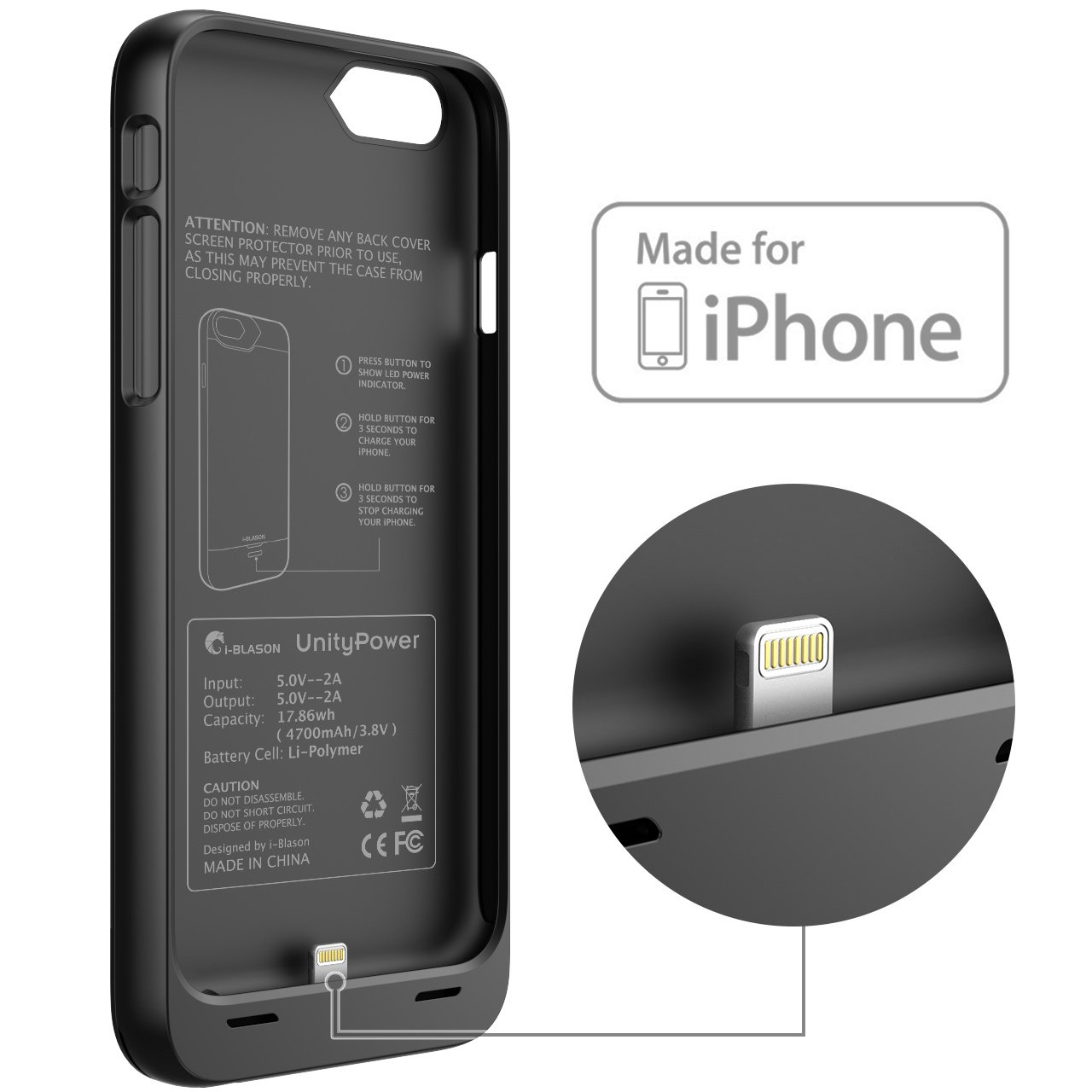 charger iphone 6 case
