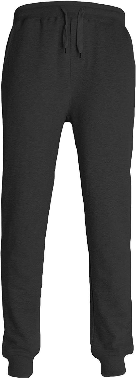 Nidicus Mens 100 Cotton Closed-Bottom Sweatpants with Pocket