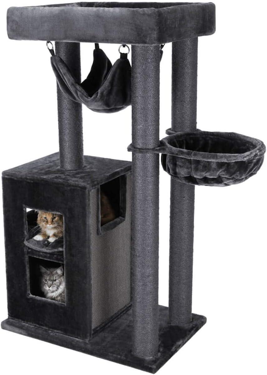 Poste rascador Amadeus XXL, 163cm, Gris: Amazon.es: Productos para mascotas