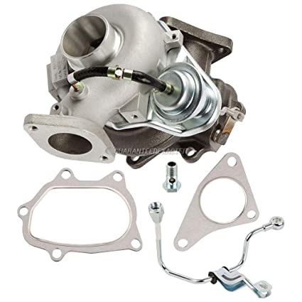 Turbo Kit With Turbocharger Gaskets & Oil Line For Subaru Legacy Outback 05-06 -