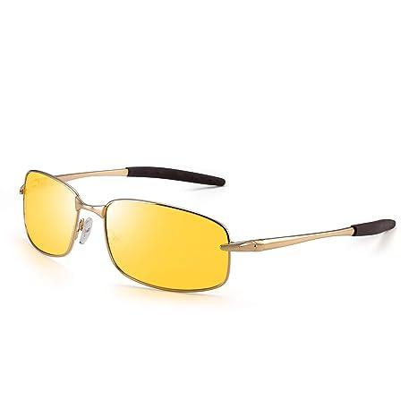JIM HALO Conducción Nocturna Polarizadas Gafas Para Hombre ...