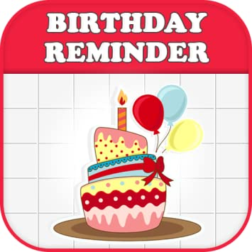 Amazon Com Birthday Reminder Calendar Appstore For Android