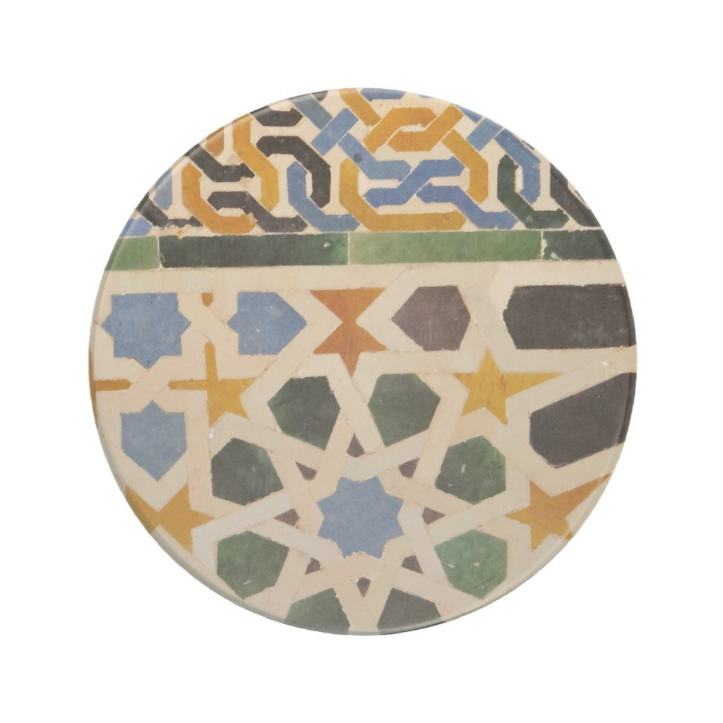 Zazzle Alhambra Wall Tile #3 Coaster