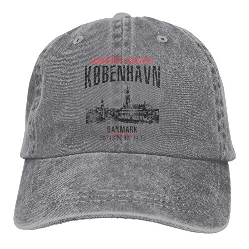 Richard Copenhagen Unisex Cotton Washed Denim Travel Cap Hat Adjustable - Shopping In Copenhagen Best