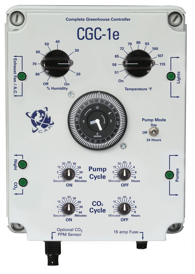 R & M Supply C.A.P. (Custom Automated Products) CACGC1 Complete Greenhouse Controller with PPM Option