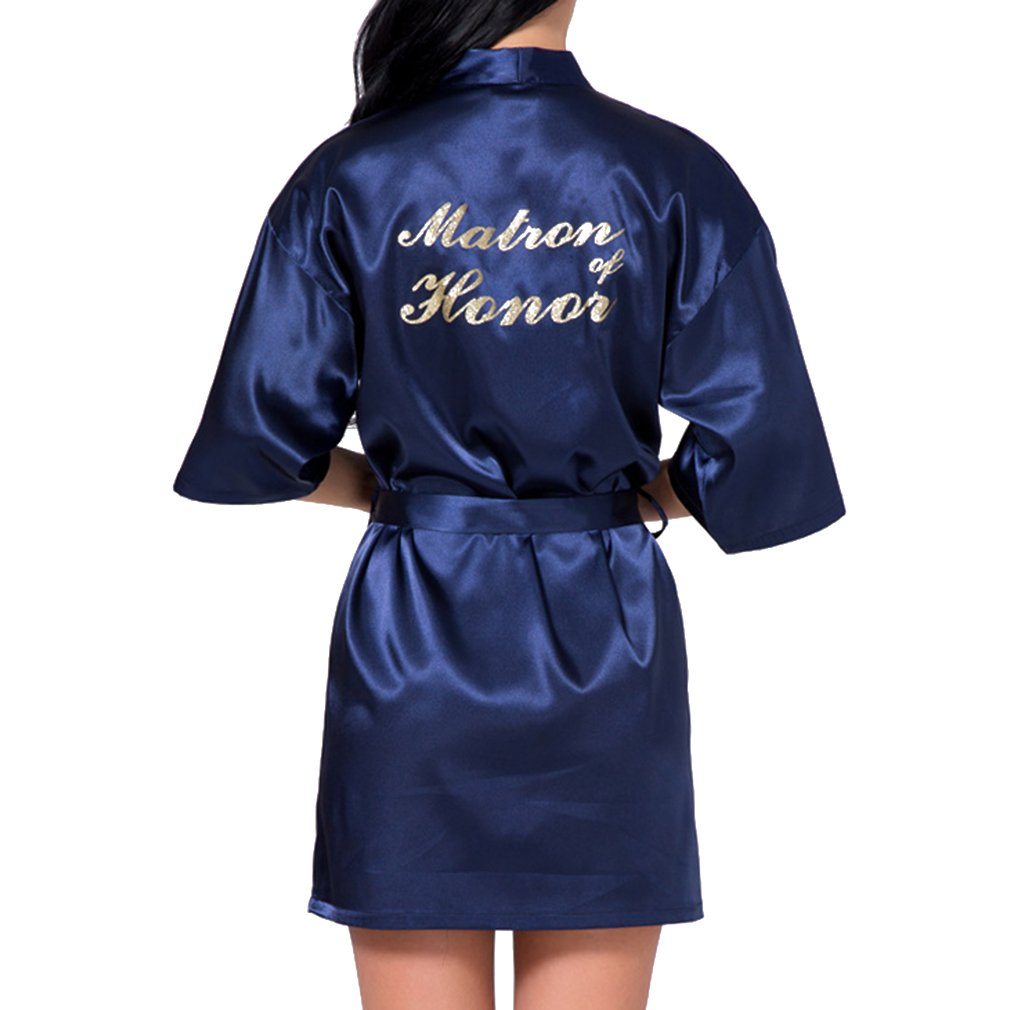 WEIMEITE Robe Kimono Toga para la Novia Dama de Honor Vestido de la Boda: Amazon.es: Ropa y accesorios