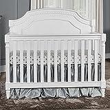 Evolur Julienne 5-in-1 Convertible Crib, Brush White