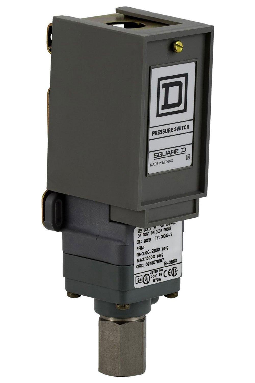 Square D por SCHNEIDER ELECTRIC 9012 gng3q1 Interruptor de presión, G, 480 VAC, 10 Amp: Amazon.es: Amazon.es