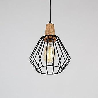 Vintage Suspension Rétro Louvra Cage Industrielle Luminaire Abat clF1TJ3K