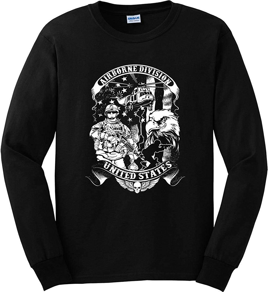Sons Of Liberty Airborne Division USA Long Sleeve Shirt