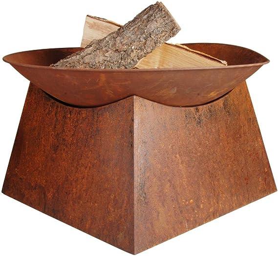 Esschert Design Rust Fire Bowl Garden Outdoor Amazon Com