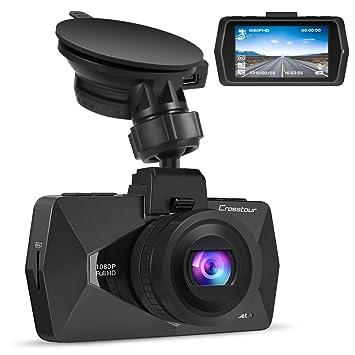Crosstour coche Dash Cam DVR cámara para salpicadero para coches 1080p FHD 2.7 LCD 170 °