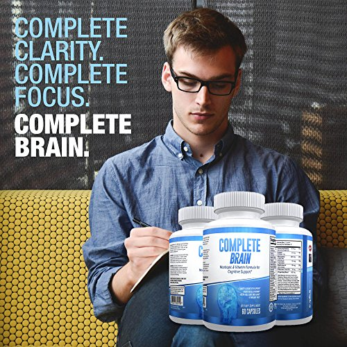 CompleteBrain: Powerful Nootropic and Brain Supplement - Improves Memory, Mood, Focus, Clarity and Creativity 30 Servings by eXplicit Supplements (Image #6)