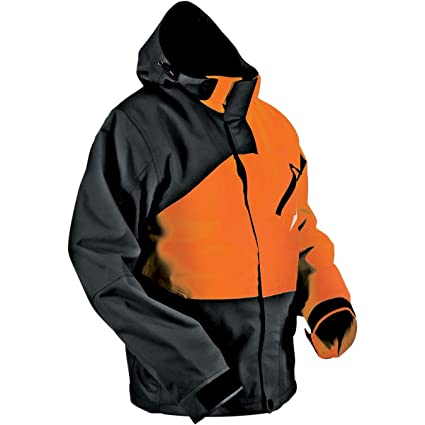 f4e2d9f1 Amazon.com: HMK Hustler 2 Jacket, Gender: Mens/Unisex, Primary Color:  Orange, Size: XL, Distinct Name: Black/Orange: Automotive