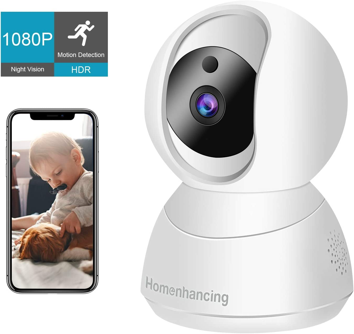 Amazon coupon code for 1080P Wireless Dog Camera Home