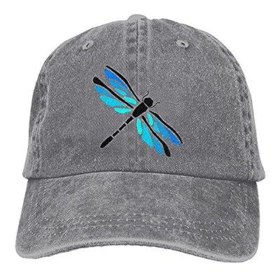 Safan532 Unisex Playful Dragonfly Funny Logo Summer Fashion Cotton Baseball Cap Adjustable Trucker Hats For Outdoor Sport