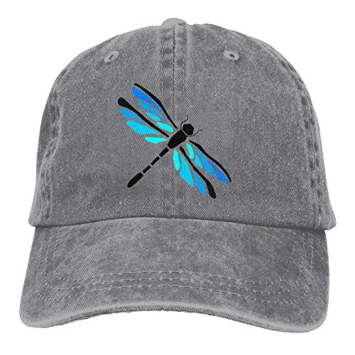Safan532 Unisex Playful Dragonfly Funny Logo Summer Fashion Cotton Baseball Cap Adjustable Trucker Hats For Outdoor Sport