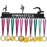 Medal Holder, ULwysd Sports Medal Hanger Display Holder Hook Rack for 40 Medals - Gymnastics (16' Wide with 20 Hooks…