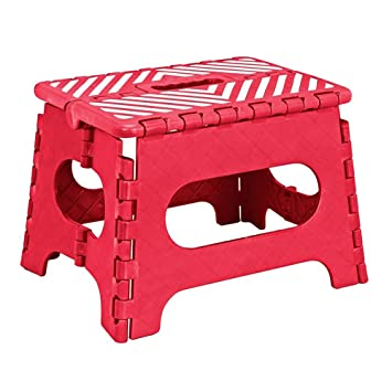 Amazing Simplify 9 Inch Folding Step Stool Red Amazon Co Uk Toys Uwap Interior Chair Design Uwaporg