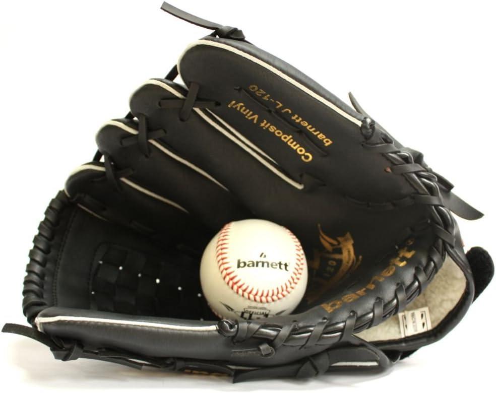 BARNETT JL-120 Gant de Baseball Initiation PU Outfield 12