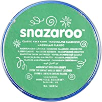 Snazaroo Classic Face Paint, 18ml, Bright Green