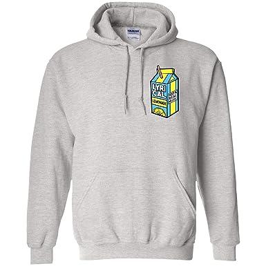 Amazon com: Lyrical Lemonade Hoodie White: Clothing