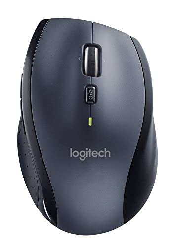 Logitech M705 Wireless Mouse for Windows, Mac, Chrome for Laptop and Computer - Black