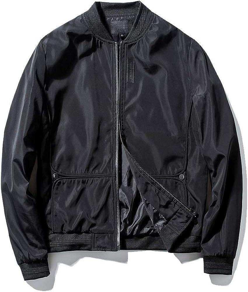 Guanzizai Men's Lightweight bomber Softshell jacket Sale Popular overseas special price Zipp outwear