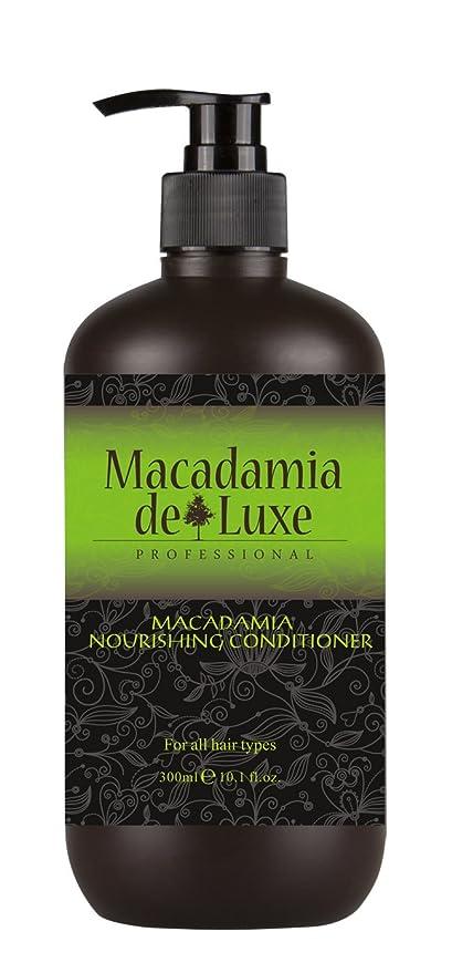Macadamia DeLuxe Acondicionador de Aceite de Macadamia, Cuidado del Cabello Premium (300ml)