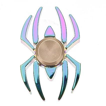 Fon Premium Quality Spiderman Metal Fidget Spinner Rainbow
