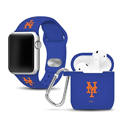 Amazon.com: New York Mets Silicone Watch Band and Case Cover ...