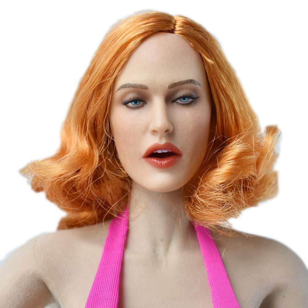 TBLeague DH009 HiPlay 1//6 Scale Female Figure Head Sculpt Beauty Charming Girl Doll Head for 12 Action Figure Phicen