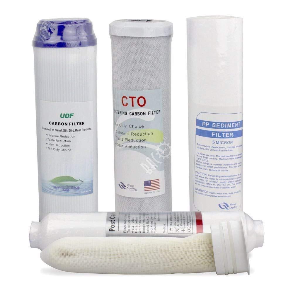 BACOENG Wasserfilter Ersatz Set - 5 Stufen Ultrafiltration Baco Engineering