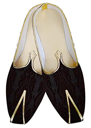Mens Purple Wine Groom Wedding Shoes MJ012057