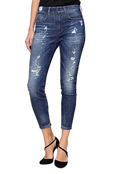 Drykorn Damen Jeans Skinny Boyfriend Jeans Crunch, Farbe