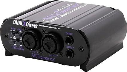 Art Audio - Arte dualxdirect caja de inyección directa activa ...