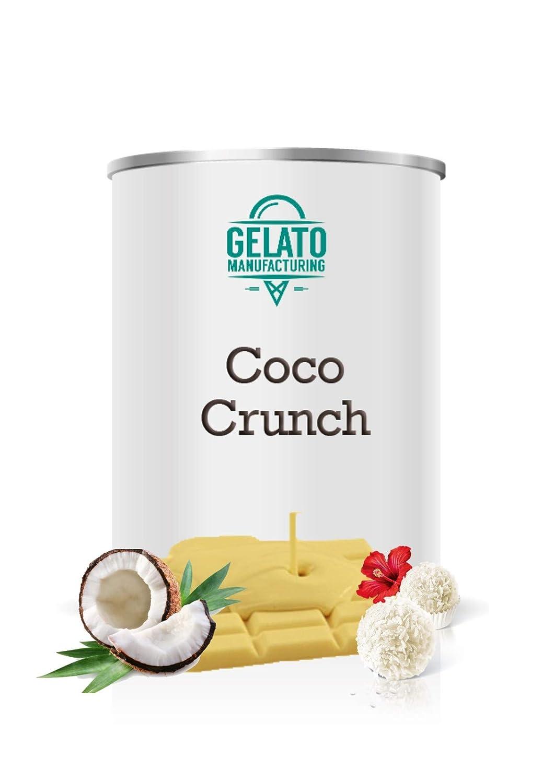 Coco Crunch - Crema de chocolate blanco enriquecido con coco ...
