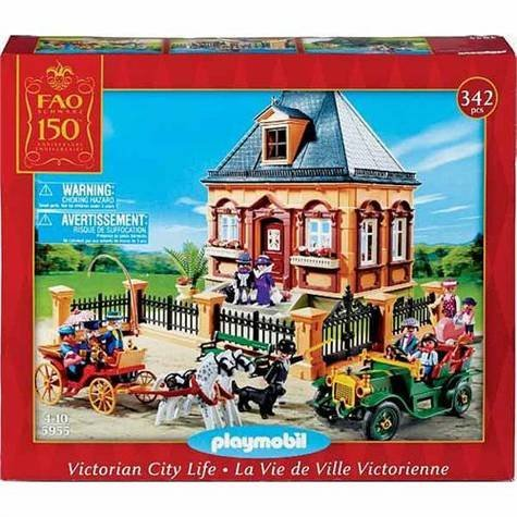 FAO Schwarz 150th Anniversary Playmobil Victorian City Life Set by PLAYMOBIL®