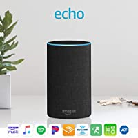 Deals on Amazon Echo 2nd Generation Smart speaker w/Alexa